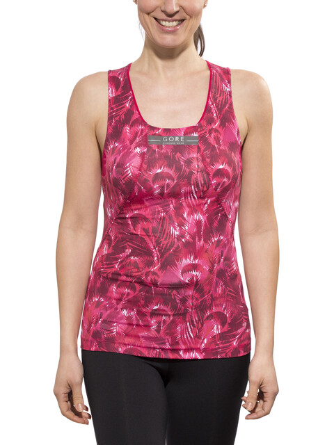 GORE RUNNING WEAR AIR PRINT Singlet Lady jazzy pink